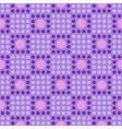 Seamless geometric pattern in the cell vector image vector image