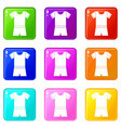 sport shirt and shorts set 9 vector image vector image