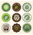 tree label vector image vector image