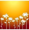 Beautiful Autumn Flowers vector image