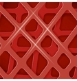 Crossed Lines Abstract Red Cover Background vector image vector image