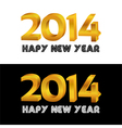 Happy new year document vector image vector image