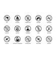 natural and organic icon set toxic free icons