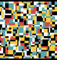 seamless noisy pattern in retro colors art vector image