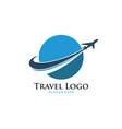 travel logo airplane design airplane tickets