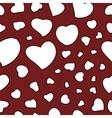 Valentines Day Background Seamless Pattern vector image