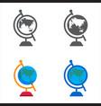 world designed icons set vector image