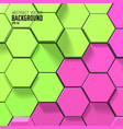 colorful geometric background vector image vector image