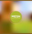 mesh backgrounds in greenish brown tones vector image vector image