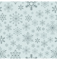Seamless snowflake background vector | Price: 1 Credit (USD $1)