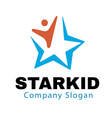 Star Kid Design vector image vector image