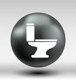 toilet icon button logo symbol concept vector image