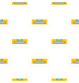 yellow working tool bubble level pattern seamless vector image vector image