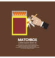 Matchbox Container vector image