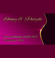 business cards and company style vector image vector image
