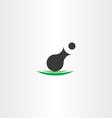 cannon icon symbol design vector image vector image