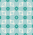 Colorful seamless floral pattern vintage vector image vector image