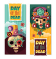 dead day banners vector image