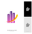modern city logo concepts corporate business vector image vector image
