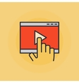 Online video vector image