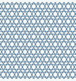 abstract simple seamless blue triangle pattern vector image vector image