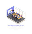 business coaching concept vector image vector image