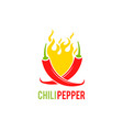chili pepper mexico icon of vector image vector image