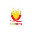 chili pepper mexico icon vector image