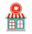 coffee shop restaurant decorative vector image