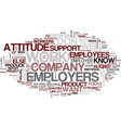 five qualities employers want text background vector image vector image