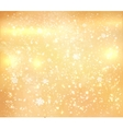 Gold shiny grunge background vector image