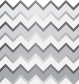 grey and white chevron pattern vector image vector image