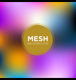 mesh background in carnival color palette vector image vector image