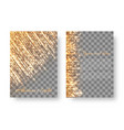 flickering background with bright particles vector image