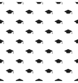 Graduation cap pattern simple style vector image