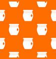 honey bank pattern seamless vector image vector image