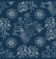 ornament pattern decorative folk ornament vector image vector image