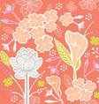 flower pattern set 1D vector image