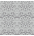 Abstract gray lace silver moire pattern vector image vector image