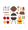 Barbecue and Grill Set vector image vector image