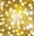 luxury golden background 1 vector image vector image