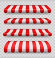 creative of colored striped vector image