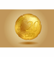 abstract 20 cent vector image