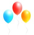 bright colored balls vector image vector image
