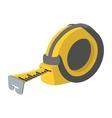 Builders tape measure symbol vector image vector image