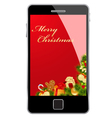 Christmas card smartphone vector | Price: 3 Credits (USD $3)