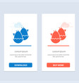 egg baeaster nature blue and red download and vector image