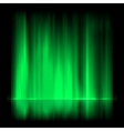 Green aurora borealis background EPS 8 vector image vector image