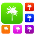 palm set collection vector image vector image
