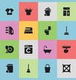 set of 16 editable hygiene icons includes symbols vector image vector image